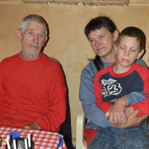Gergő és családja