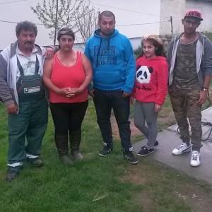 Irén és családja