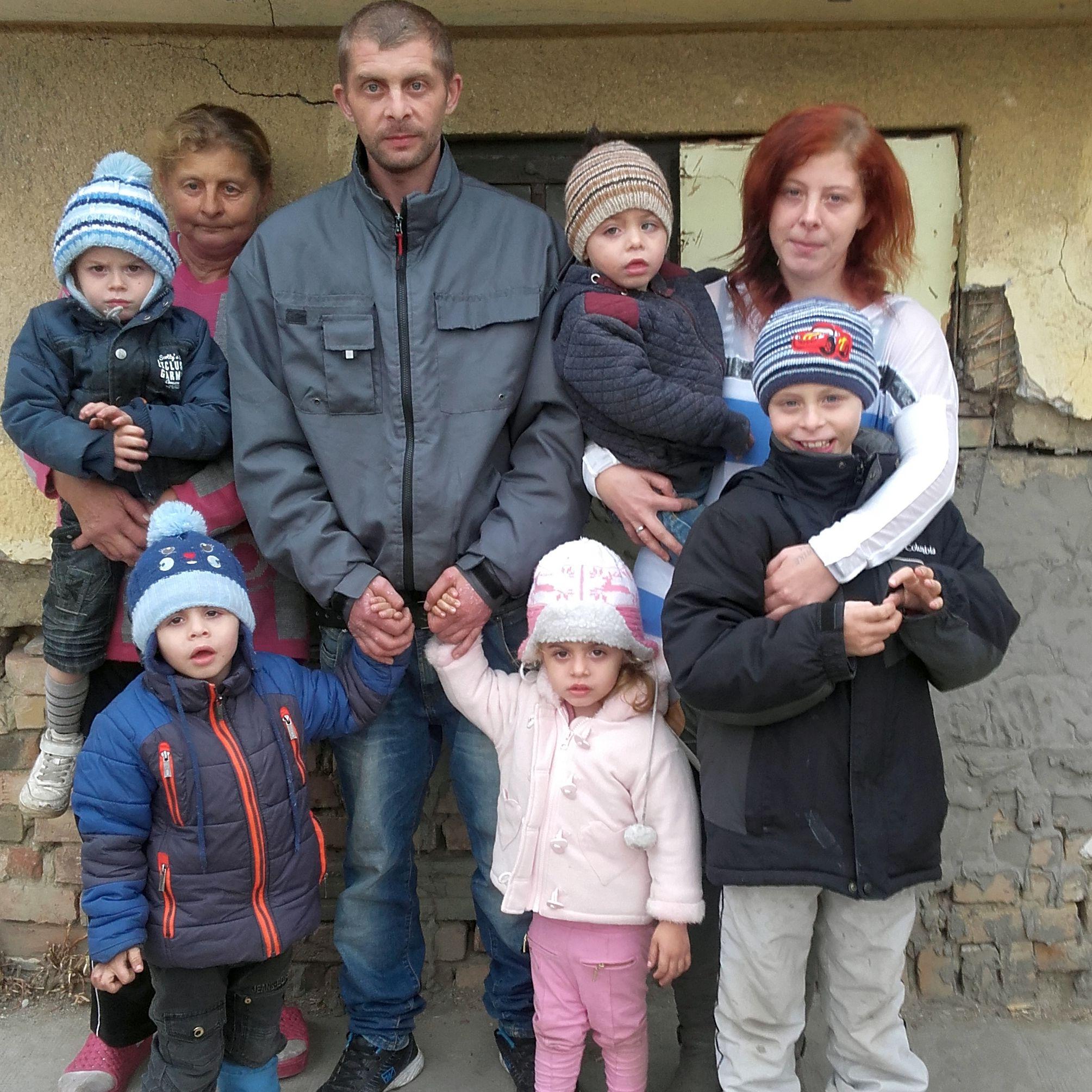Márta és családja