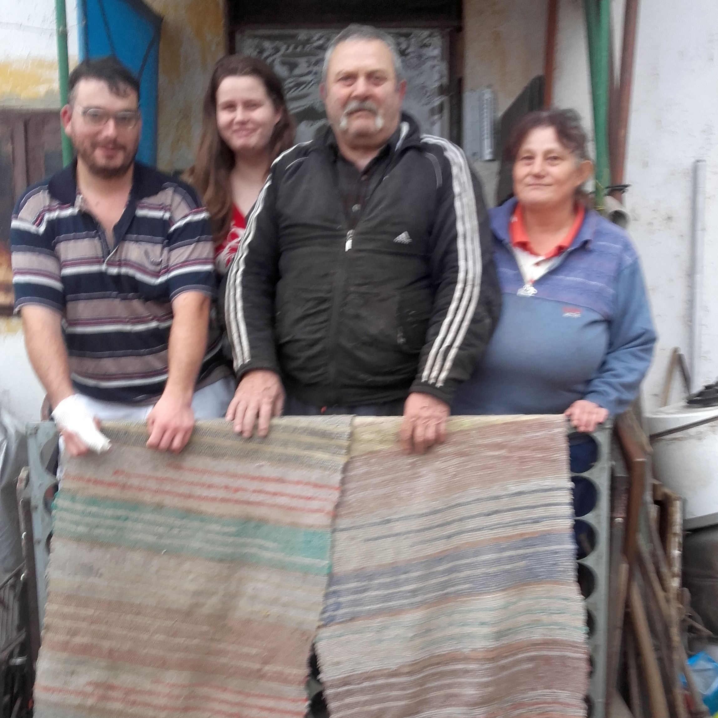 Mihály és családja