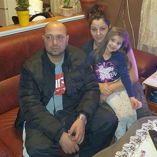 alexandra és családja