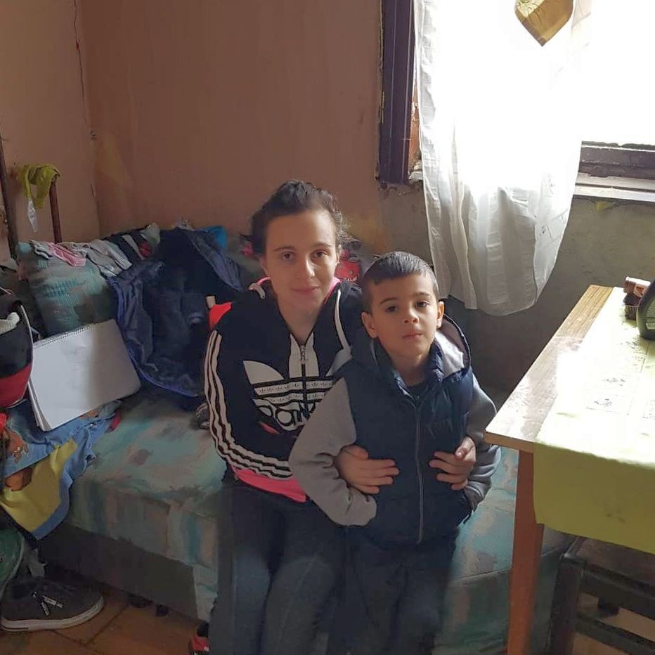 Evelin és fia