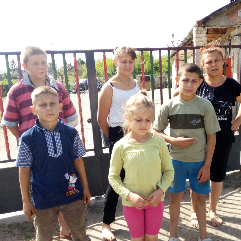 Rus család vágott